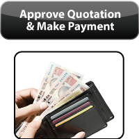 Final approval and make payment of Public Notice Ads, Business Line